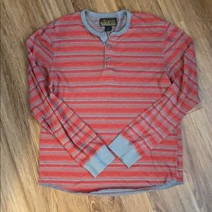 Lucky brand men's long sleeve shirt medium